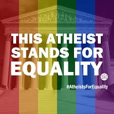 if this atheist can stand for equality shouldn t christians be if this atheist can stand for equality shouldn t christians be able to do the same
