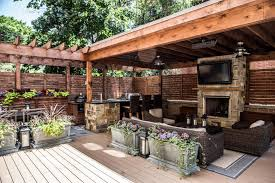 kitchen design entertaining includes: deck features zones for entertainment cooking relaxing hgtv ultimate outdoor awards  hgtv