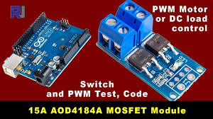 Complete Guide for 15A 400W <b>MOSFET</b> AOD4184A to control motor ...