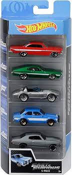 <b>Amazon</b>.com: <b>Hot</b> Wheels <b>Fast</b> & Furious 5Pk Vehicles: Toys & Games