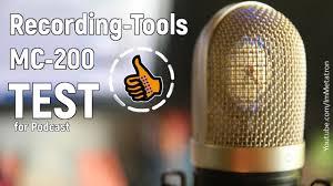 <b>Микрофон Recording-Tools</b> MC-200 - Тест - YouTube