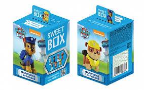 <b>Мармелад с игрушкой</b> Sweet box Paw Patrol 10 г - купить в Москве ...