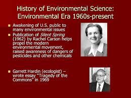 "history of environmental science three ""revolutions"" are"