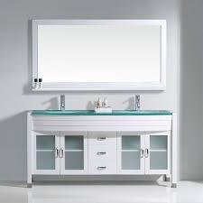 usa tilda single bathroom vanity set: virtu usa ava double sink bathroom vanity