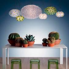 pendant lamp original design polycarbonate thermoplastic bloom battery lamp ferruccio laviani monday