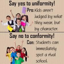 are school uniforms a good or bad idea