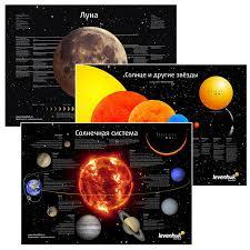 Плакаты ''Космос'' (<b>набор из 3</b>-<b>х</b> плакатов) купить за 695 рублей ...