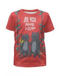 """Детские футболки c популярными принтами """"Парные"""" - <b>Printio</b>"""