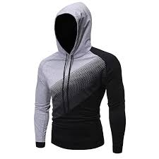 AKAIDE Mens Hoodie Fashion <b>Autumn Winter Round Neck</b> ...