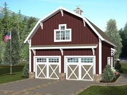 Carriage House Plans   Barn Style Carriage House Plan    Car    Carriage House Plan  G