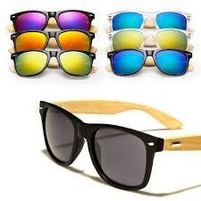 Bamboo <b>Sunglasses</b> Wood <b>Wooden Mens</b> Womens <b>Summer</b> ...