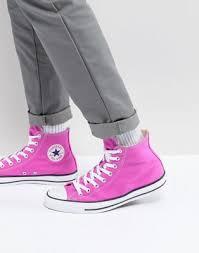 <b>Розовые</b> высокие кеды <b>Converse</b> Chuck Taylor All Star 159673C ...