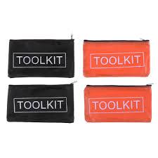 <b>2PCS Oxford</b> Cloth Tools <b>Set Bag</b> Zipper Storage Instrument Case ...