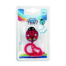 <b>Canpol</b> Babies Пластмассовая <b>цепочка для</b> пустышки красная ...