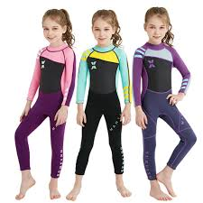 <b>Kids</b> For Youth <b>Boys</b> Girls Long Sleeve <b>Surfing</b> Diving Warm <b>One</b> ...