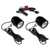 Custom Dynamics ProBeam LED Halo <b>Black Fog Lamps</b> - PB-FOG ...