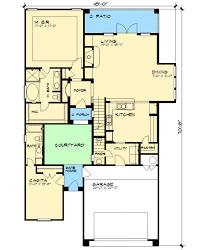 Courtyard and Casita   JG   st Floor Master Suite  Butler    Floor Plan