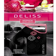 Каталог <b>Ароматизатор Deliss картонный</b>, <b>серия</b> Romance от ...