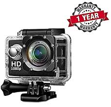 "Shaarq WiFi <b>Full HD 1080P Waterproof</b> Cam 2"" LCD Screen ..."