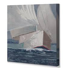 'Run, <b>Johnny</b>, Run' <b>Painting</b> Print on Wrapped <b>Canvas</b>