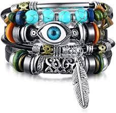 MEALGUET Multi Strand Boho Style Jewelry Tribal ... - Amazon.com