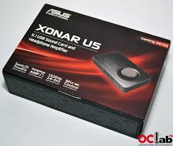 Обзор и тест внешней <b>звуковой карты ASUS Xonar</b> U5   OCLab.ru