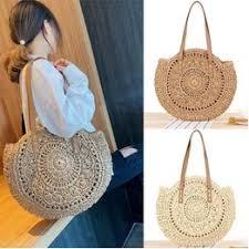 1 Pcs New Fashion Women's Shoulder Bag Woven Bag ... - Vova