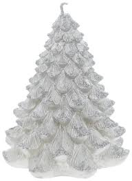 <b>Свеча</b> новогодняя <b>Winter Wings Елка</b> с блестящей крошкой 9 см