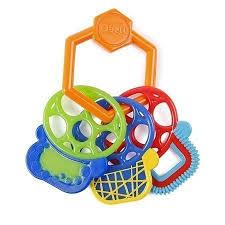 <b>Прорезыватель</b> для зубок <b>OBALL Разноцветные ключики</b> ...