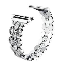 Wearlizer for Apple <b>Watch Strap</b> 38mm 40mm, Stainless Steel <b>Corn</b> ...