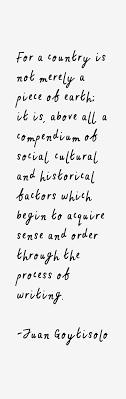Juan Goytisolo Quotes. QuotesGram via Relatably.com