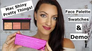 <b>Mac Shiny Pretty Things</b> | Face Palette Review - YouTube