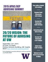 apac aep advising summit 20 20 vision the future of advising at summer summit flyer 15