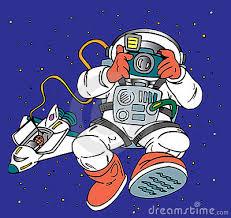 Resultado de imagem para imagem de astronautas vindo do espaço