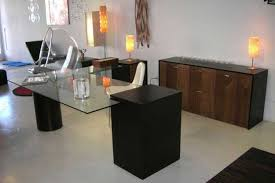 amazing brown l shaped desk design excellent small worke with rectangle amazing cool designer glass desks home