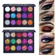 <b>15 Colors Diamond</b> Paillette Eyeshadow Palette High Gloss ...