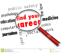 find your career magnifying glass stock photo image  find your career magnifying glass
