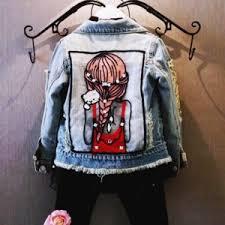 Джинсовая <b>куртка</b> AliExpress детская 1-12Yrs Baby <b>Girls</b> Hole ...