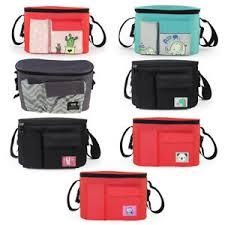<b>Cartoon</b> Animal Print <b>Baby Stroller Organizer</b> Bag with Shoulder ...