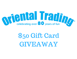 Oriental Trading Company $50 Gift Card Giveaway