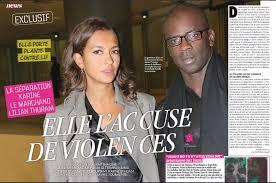 Lilian Thuram accusé de violences conjugales par Karine Le ... - karine-le-marchand