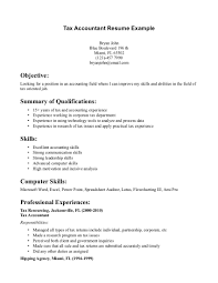 resume objectives accounting  seangarrette coresume objectives accounting sample