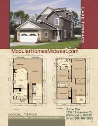 Modular Homes Illinois Photos  Narrow lots modular home floor plans