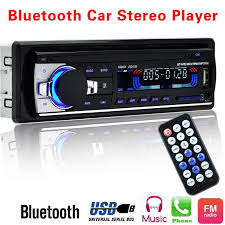 12V Bluetooth <b>V2</b>.0 Car Stereo In-<b>dash</b> Car Radio Player 1 Din FM ...