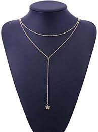 MYKI Fashion Summer Fashion jewelry crescent <b>moon necklace</b> ...