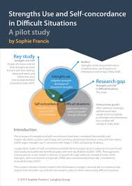 research report strengths use in difficult situations langley group research report strengths use in difficult situations