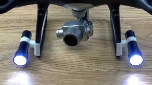 DJI Phantom <b>4 Pro</b> v2 Phantom <b>4</b> Series Aerial Lamp <b>LED</b> Night ...