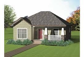 Eplans Craftsman House Plan   Low Cost Craftsman Cottage      Front