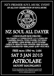In The Pocket Live NZ Soul All Dayer Mt Maunganui 2015