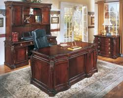 f office desks for home charming dark brown wooden glossy buy office desk rectangle carving ideas on executive mahogany material cheap office furniture cheap office desks for home